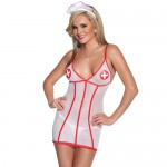 Coquette Mesh Nurse Outfit UK 8 to 14