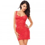 Coquette Kissable Red Lacey Dress UK 8 to 14